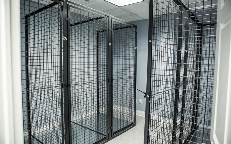 Fitness Center Storage
